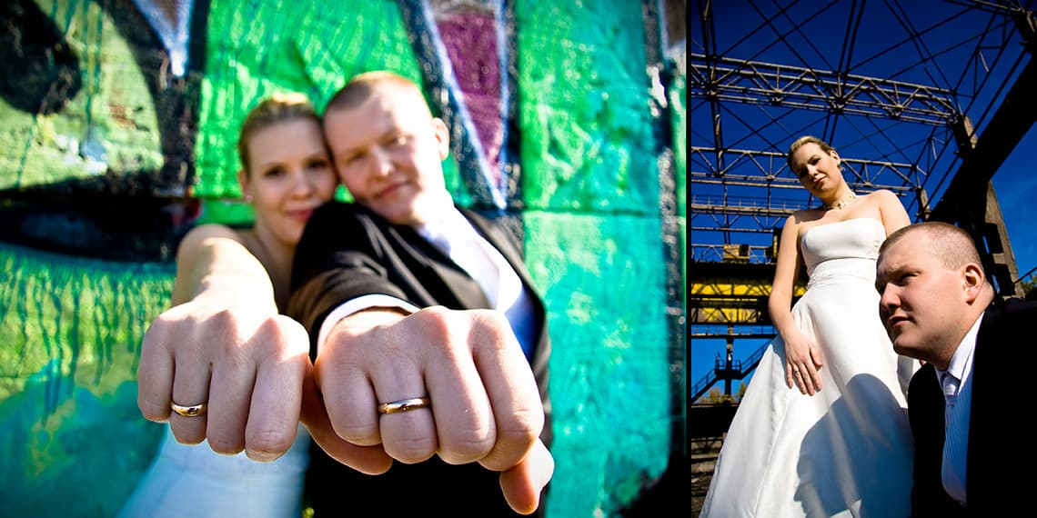 Contemporary wedding photography in Cardiff