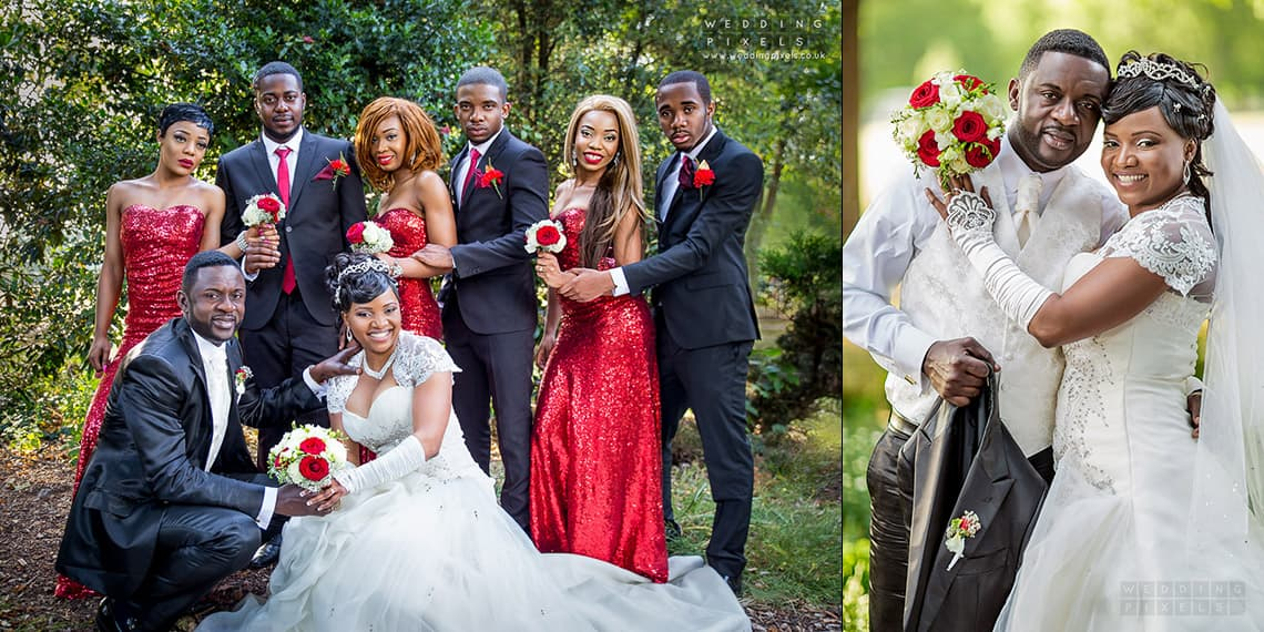Congolese wedding photography in London